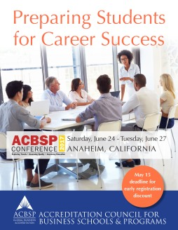 ACBSP Conference 2017 Booklet Cover