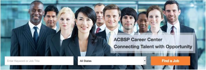 ACBSP Career Center Relaunch_2017